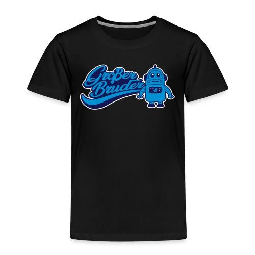 Großer Bruder Roboter - Kinder Premium T-Shirt