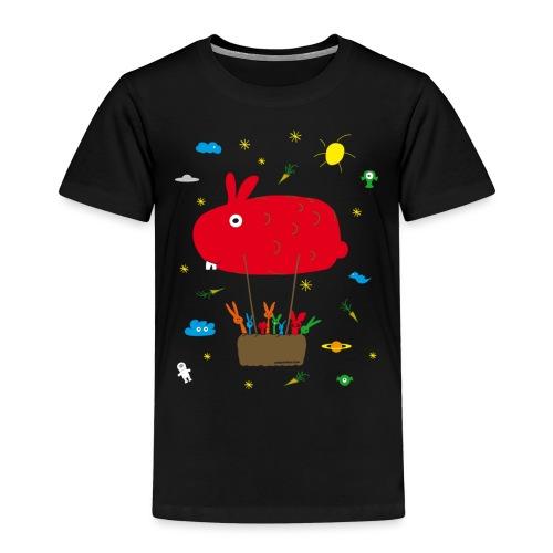 USS HASENPRISE HASE Häschen Bunny BALLON - Kinder Premium T-Shirt