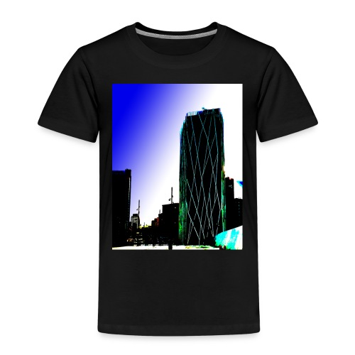 Abstract Barcelona mug - Kids' Premium T-Shirt