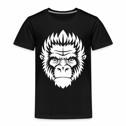 gorilla white - T-shirt Premium Enfant