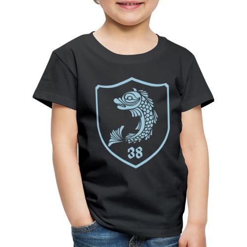 grenoble, dauphin blason 38 - T-shirt Premium Enfant