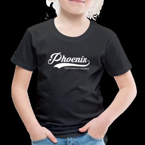 Phoenix Retro White - Kinder Premium T-Shirt