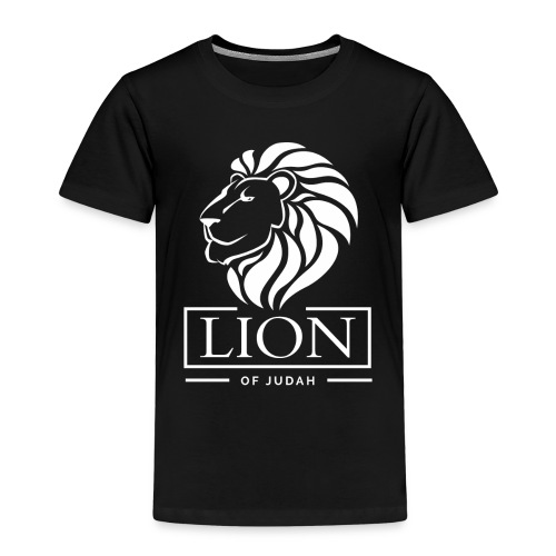 Lion of Judah - Rastafari - Kinder Premium T-Shirt
