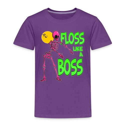 Floss like a Boss - Kinder Premium T-Shirt