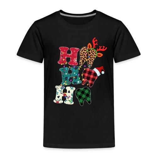 Ho Ho Ho Tooth - Kids' Premium T-Shirt