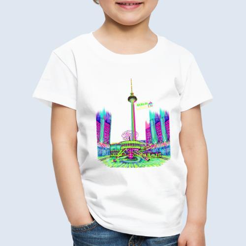 "Berliner Original ""Alexanderplatz"" PopArt Design - Kinder Premium T-Shirt"