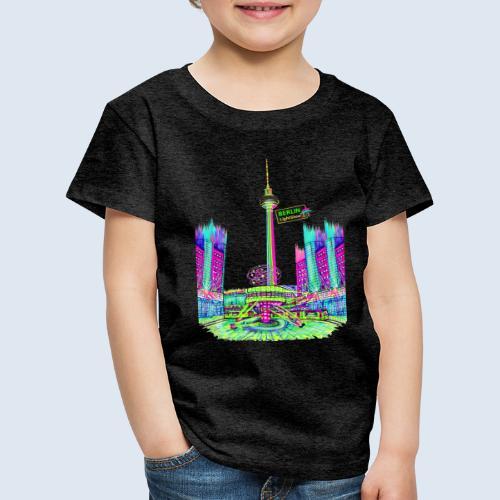 Berlin Alexanderplatz / BerlinLightShow /PopArt - Kinder Premium T-Shirt