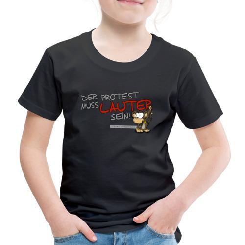 Protest-Äffchen1 - Kinder Premium T-Shirt