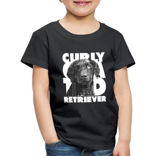 Curly Coated Retriever I - Lasten premium t-paita