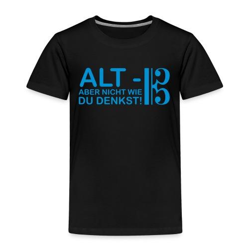 Alt Vektor - Kinder Premium T-Shirt