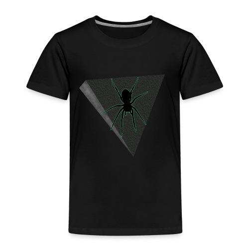 Spinne Neon-grün - Kinder Premium T-Shirt