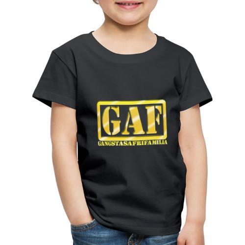 GAF - Camiseta premium niño