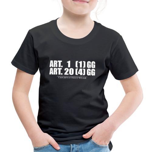 Artikel 1& Artikel 20 - Kinder Premium T-Shirt