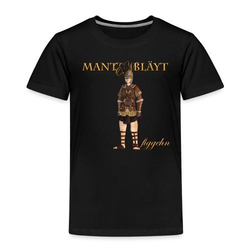 mantenblad - Premium-T-shirt barn