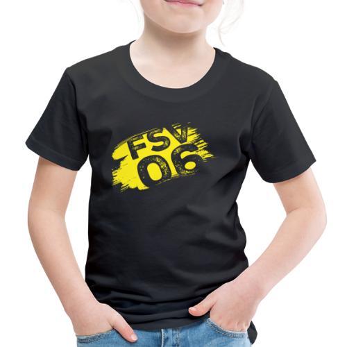 Hildburghausen FSV 06 Graffiti gelb - Kinder Premium T-Shirt
