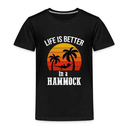 Reisen Weltreise Travelshirt Hängematte - Kinder Premium T-Shirt