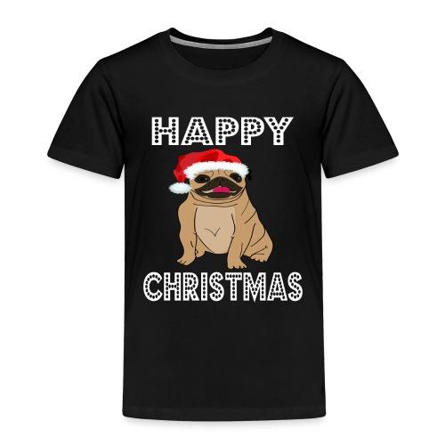 Hund Weihnachten Lustig geschenkidee Santa Claus - Kinder Premium T-Shirt