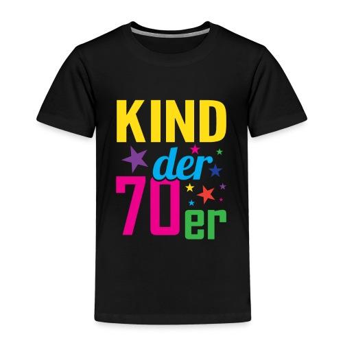 Kind der 70er - Kinder Premium T-Shirt