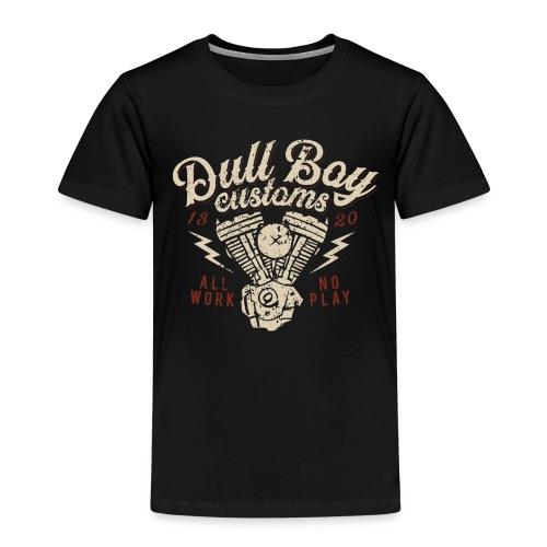 oldschool rygg distressed 2 - Premium T-skjorte for barn