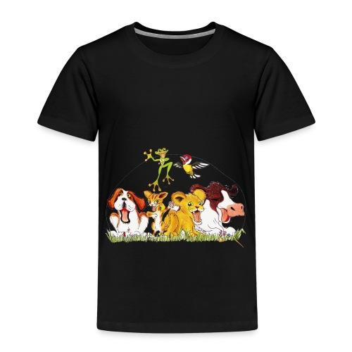 Logo Mazzi orange new png - Kinder Premium T-Shirt