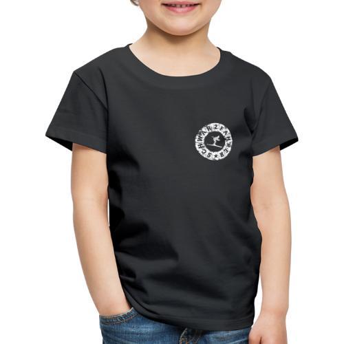 Schwarzfahrer Ski Skifahrer - Kinder Premium T-Shirt