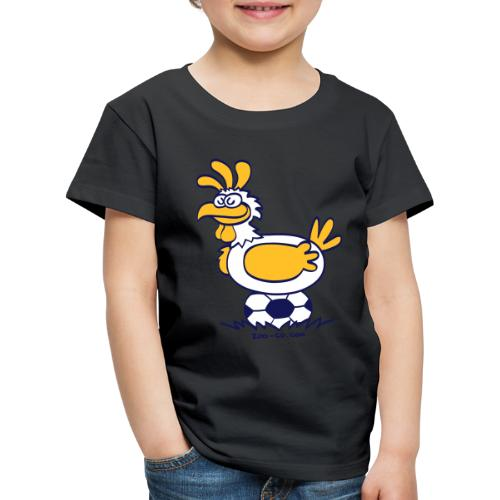 Laying Football Balls - Kids' Premium T-Shirt