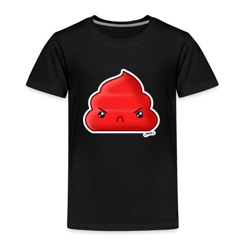 Cacca Rossa - Maglietta Premium per bambini