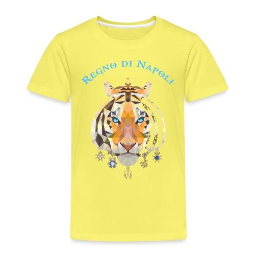 regno di napoli tigre - Maglietta Premium per bambini
