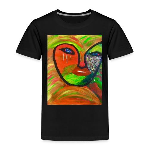 tränendes Auge - Kinder Premium T-Shirt