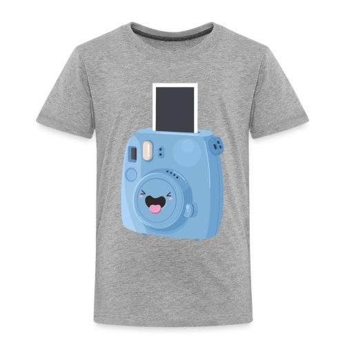Appareil photo instantané bleu - T-shirt Premium Enfant