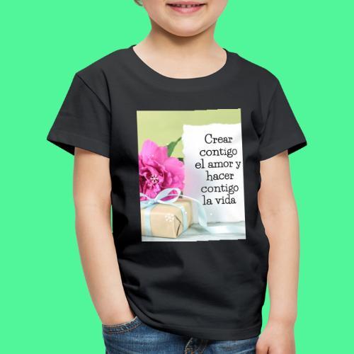 CREAR CONTIGO EL. AMOR - Camiseta premium niño