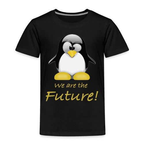pinguin we are the future - Maglietta Premium per bambini