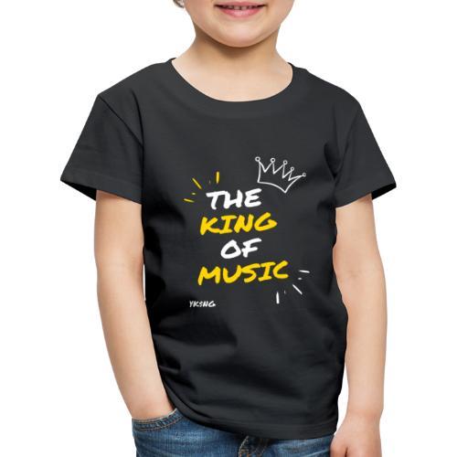 The king Of Music - Camiseta premium niño