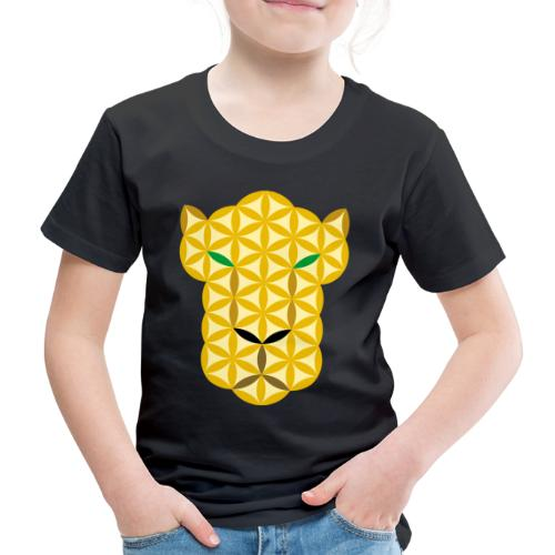 The Big Cat Of Life - Sacred animals, A01. - Kids' Premium T-Shirt