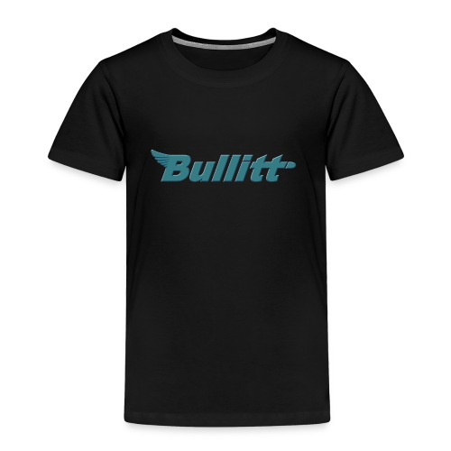 Bullitt logo centred Raised Bluish png - Kids' Premium T-Shirt
