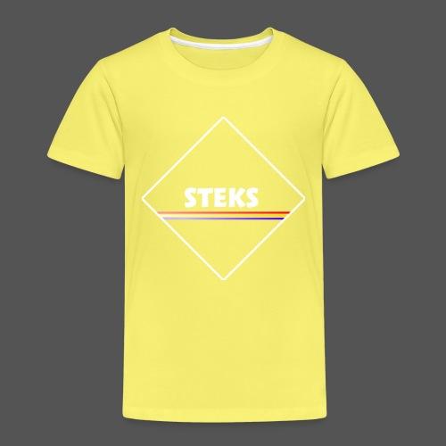 3Color STEKS™ Logo - Kinderen Premium T-shirt