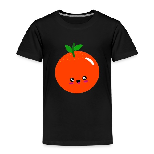 Cute Orange - Kinder Premium T-Shirt