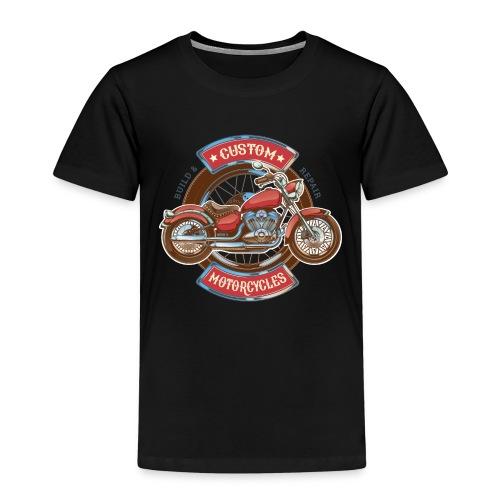Custom Motorcycles - Camiseta premium niño