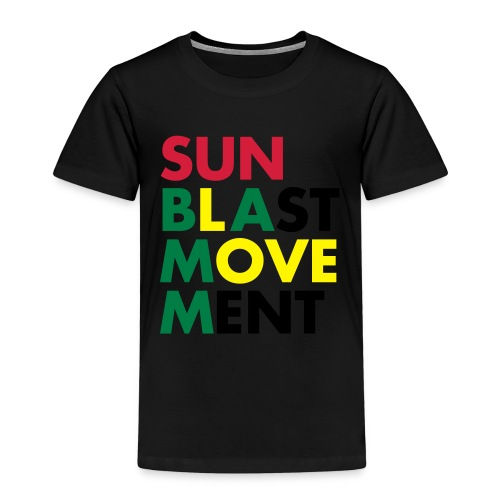 Sunblast Movement Love - Kinder Premium T-Shirt
