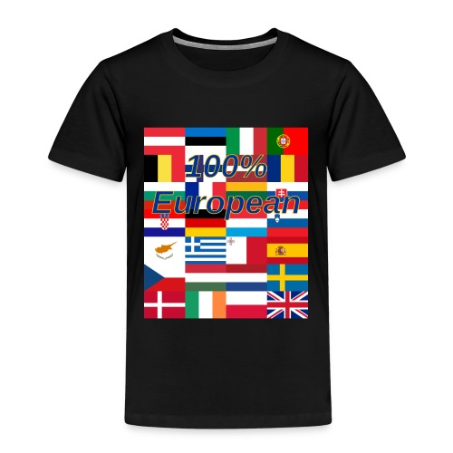 100 european - Kids' Premium T-Shirt