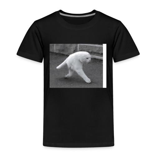 weird cat - Kinderen Premium T-shirt