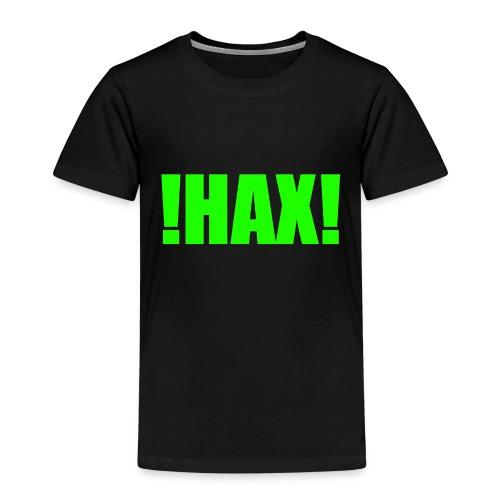 HAX-shirt by BOT SHELL - Kinder Premium T-Shirt