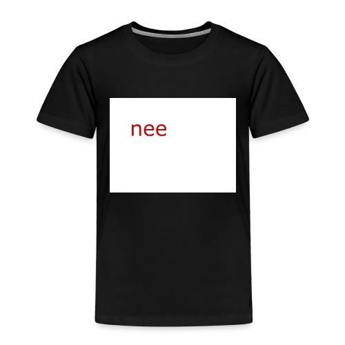 nee t-shirts - Kinderen Premium T-shirt