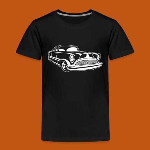 Lowrider / Oldtimer / Muscle Car 03_weiß - Kinder Premium T-Shirt