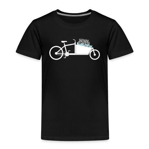 Lastenrad als Mannschaftswagen - Kinder Premium T-Shirt