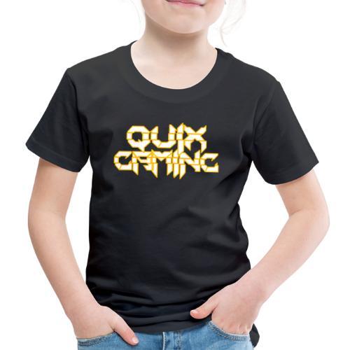 QuixGaming Simple Design - Børne premium T-shirt