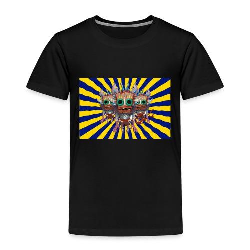 Mind Bending Tiki Warriors - Kids' Premium T-Shirt