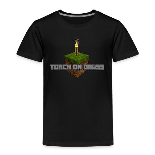 TorchOnGrass logo - Kinderen Premium T-shirt