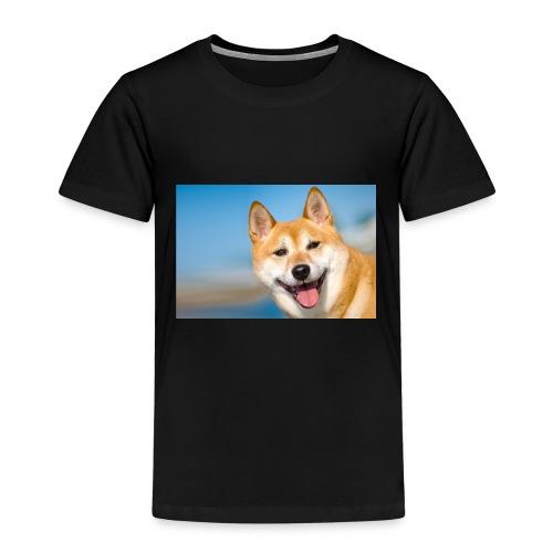 shiba inu hund l jpg - Kinder Premium T-Shirt