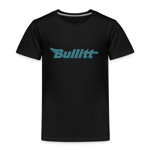 Bullitt logo centred Raised Bluish png - Kids' Premium T-Shirt